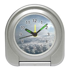 Sky Plane View Desk Alarm Clock