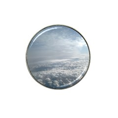 Sky Plane View Golf Ball Marker (for Hat Clip)
