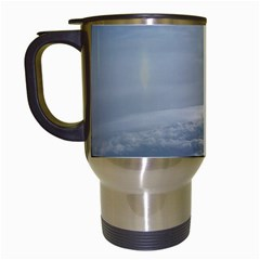 Sky Plane View Travel Mug (white)