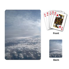 Sky Plane View Playing Cards Single Design
