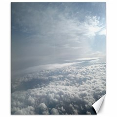 Sky Plane View Canvas 20  X 24  (unframed)