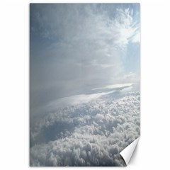 Sky Plane View Canvas 20  X 30  (unframed)