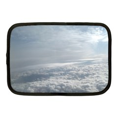 Sky Plane View Netbook Sleeve (medium)