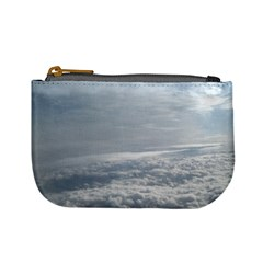 Sky Plane View Coin Change Purse