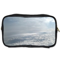 Sky Plane View Travel Toiletry Bag (one Side) by yoursparklingshop