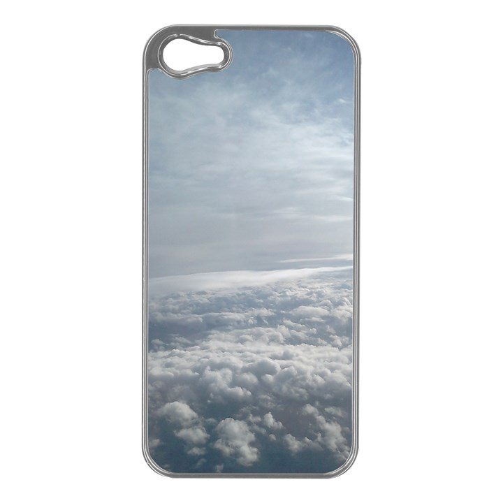 Sky Plane View Apple iPhone 5 Case (Silver)