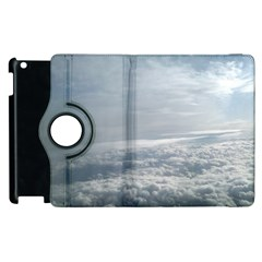 Sky Plane View Apple Ipad 3/4 Flip 360 Case