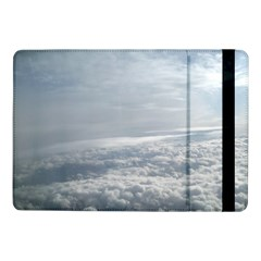 Sky Plane View Samsung Galaxy Tab Pro 10.1  Flip Case by yoursparklingshop