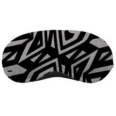 Geometric Tribal Print Sleeping Mask by dflcprints
