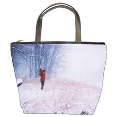 Untitled1 Bucket Handbag by things9things