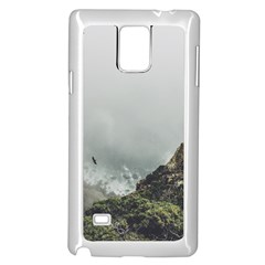 Untitled2 Samsung Galaxy Note 4 Case (White) by things9things