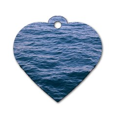 Unt6 Dog Tag Heart (one Sided)  by things9things
