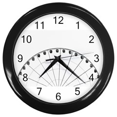 untitled Wall Clock (Black) by things9things