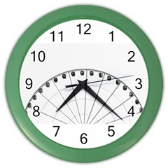Untitled Wall Clock (color) by things9things