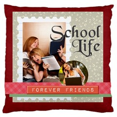 Graduation, School Life By School   Large Cushion Case (two Sides)   L642bf9goisy   Www Artscow Com Front