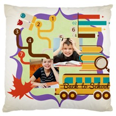 Graduation, School Life By School   Large Cushion Case (two Sides)   Ucg05o68uhr3   Www Artscow Com Front