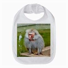 Grey Monkey Macaque Bib