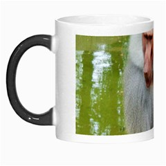 Grey Monkey Macaque Morph Mug