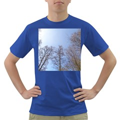 Large Trees In Sky Men s T Shirt (colored)