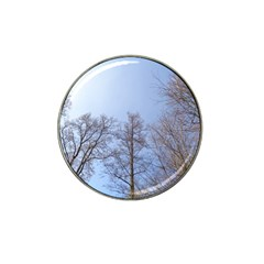 Large Trees In Sky Golf Ball Marker 4 Pack (for Hat Clip)
