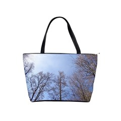Large Trees In Sky Large Shoulder Bag