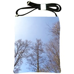 Large Trees In Sky Shoulder Sling Bag by yoursparklingshop