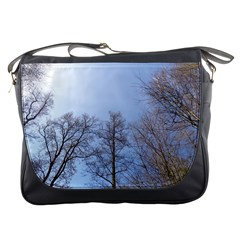 Large Trees In Sky Messenger Bag