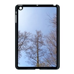 Large Trees In Sky Apple Ipad Mini Case (black) by yoursparklingshop