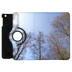 Large Trees In Sky Apple Ipad Mini Flip 360 Case by yoursparklingshop
