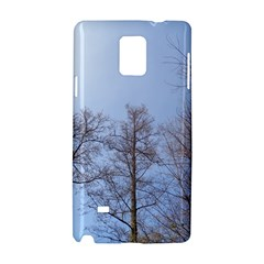Large Trees In Sky Samsung Galaxy Note 4 Hardshell Case by yoursparklingshop