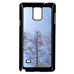 Large Trees In Sky Samsung Galaxy Note 4 Case (black)