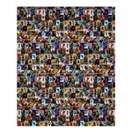 Comics 2 - Shower Curtain 60  x 72  (Medium)