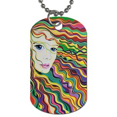 Inspirational Girl Dog Tag (one Sided) by sjart