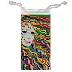 Inspirational Girl Jewelry Bag by sjart