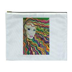 Inspirational Girl Cosmetic Bag (xl) by sjart