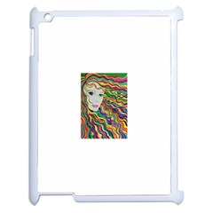 Inspirational Girl Apple Ipad 2 Case (white) by sjart
