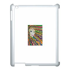 Inspirational Girl Apple Ipad 3/4 Case (white) by sjart