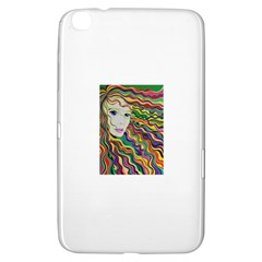 Inspirational Girl Samsung Galaxy Tab 3 (8 ) T3100 Hardshell Case  by sjart