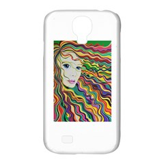 Inspirational Girl Samsung Galaxy S4 Classic Hardshell Case (pc+silicone)