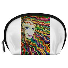 Inspirational Girl Accessory Pouch (large) by sjart