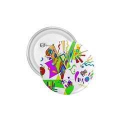 Splatter Life 1 75  Button by sjart