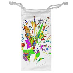 Splatter Life Jewelry Bag by sjart