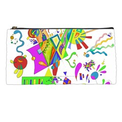 Splatter Life Pencil Case by sjart