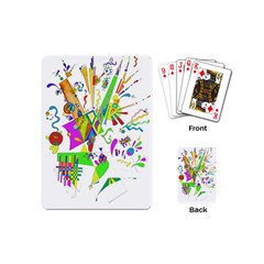 Splatter Life Playing Cards (mini) by sjart