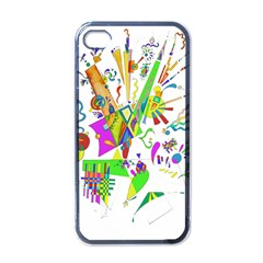Splatter Life Apple Iphone 4 Case (black) by sjart