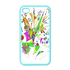 Splatter Life Apple Iphone 4 Case (color) by sjart