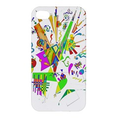 Splatter Life Apple Iphone 4/4s Hardshell Case by sjart