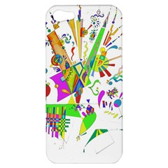 Splatter Life Apple Iphone 5 Hardshell Case by sjart