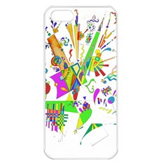 Splatter Life Apple Iphone 5 Seamless Case (white) by sjart