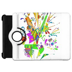 Splatter Life Kindle Fire Hd Flip 360 Case